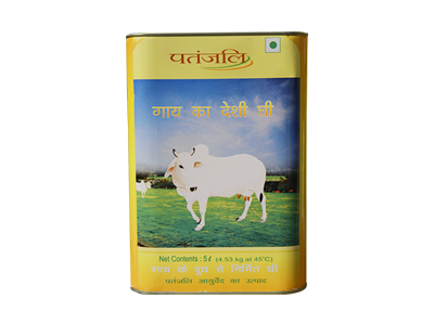 PATANJALI COW'S GHEE 5 LTR