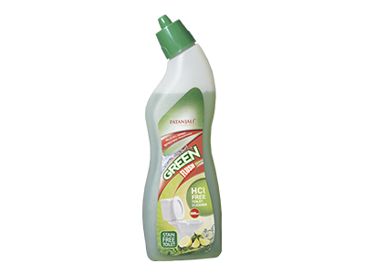 PATANJALI GREEN FLUSH TOILET CLEANER(HCL FREE)500ML-T