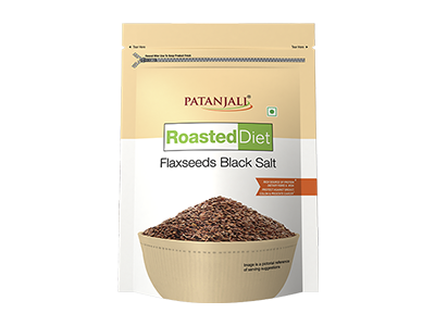 ROASTED DIET-FLAXSEED BLACK SALT 150 GM