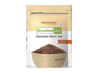 ROASTED DIET-FLAXSEED BLACK SALT 150 GM