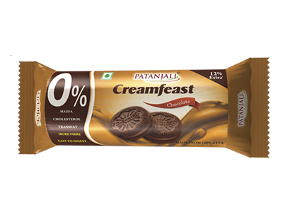 PATANJALI CREAMFEAST CHOCOLATE BISCUIT