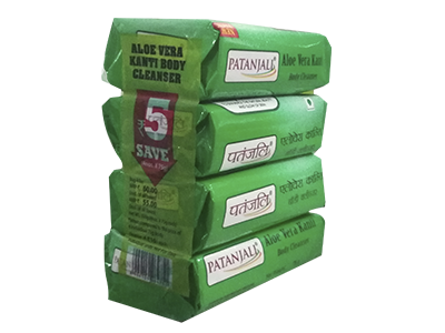 ALOEVERA KANTI BODY CLEANSER-(4X1) 75 GM