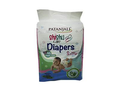 SHISHU CARE BABY DIAPER (SMALL-46)