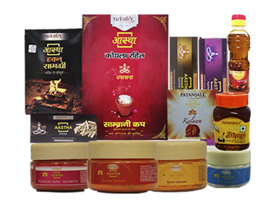 AASTHA -  COMBO (PACK OF POOJA ITEMS)
