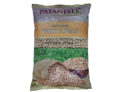 PATANJALI UNPOLISHED WHITE PEAS