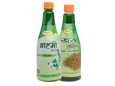 PATANJALI HEALTH DRINK COMBO ( KHUS SHARBAT + BRAHMI SHARBAT)