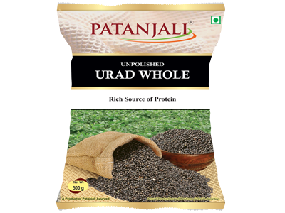 PATANJALI UNPOLISHED URAD WHOLE