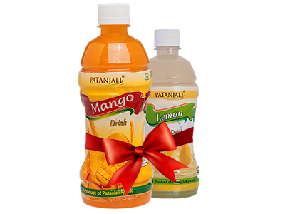 PATANJALI FRUIT BEVERAGES COMBO ( MANGO DRINK 1Ltr + LEMON DRINK 500Ml)