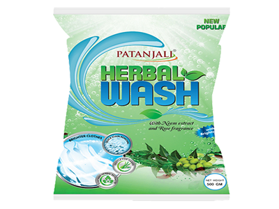 PATANJALI HERBAL WASH DETERGENT POWDER