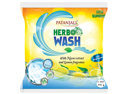 HERBO WASH DETERGENT POWDER- 500GM