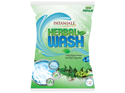 HERBAL WASH DETERGENT POWDER