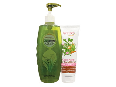 KESH KANTI ALOE VERA HAIR CLEANSER PLUS CONDITIONER WITH PROTEIN