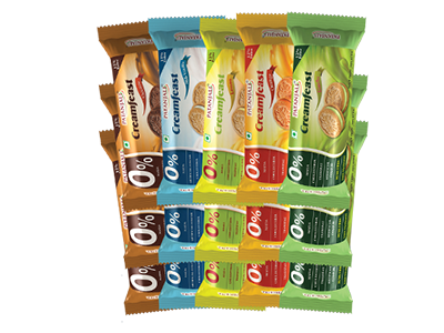 PATANJALI- COMBO (PACK OF 15 CREAMFEAST BISCUIT)