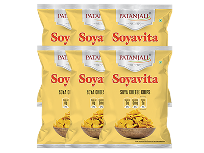 SOYAVITA SOYA CHEESE CHIPS (Pack of 6)