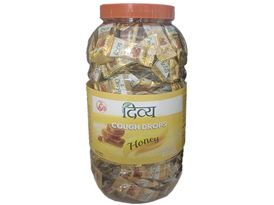 DIVYA COUGH DROPS - HONEY (JAR)