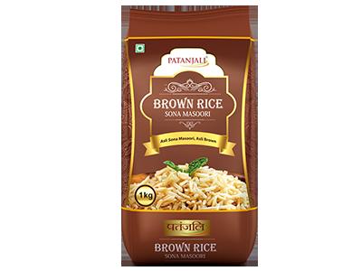 Patanjali Brown Rice- Sona Masoori
