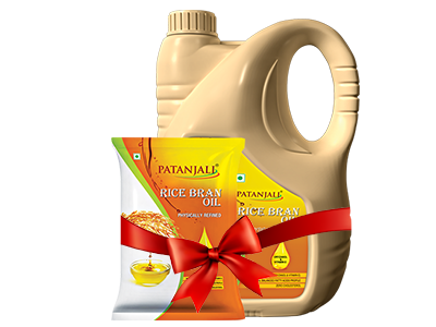 RICE BRAN OIL JAR ( Free 1Ltr Pouch)