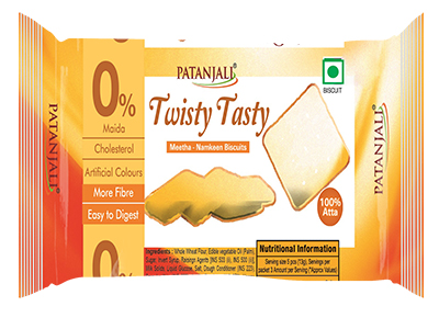 TWISTY TASTY BISCUITS