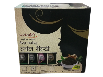KESH KANTI HERBAL MEHANDI (NATURAL BLACK)