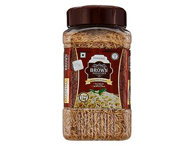 BROWN BASMATI RICE JAR