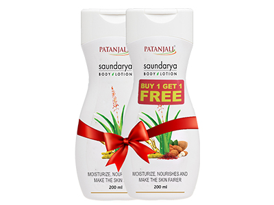 SAUNDARYA BODY LOTION 200ml ( Buy 1 Get 1 *FREE)