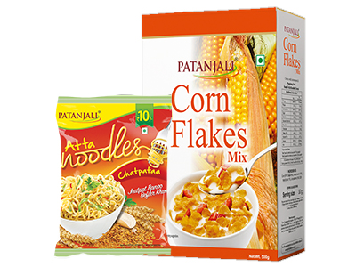CORN FLAKES MIX 500Gm Plus ATTA NOODLES CHATPATAA-60Gm (FREE)