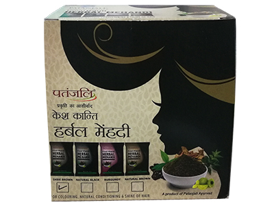 KESH KANTI HERBAL MEHANDI (DARK BROWN)