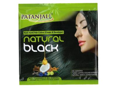 KESH KANTI HAIR COLOUR (CREAM & DEVELOPER) - NATURAL BLACK