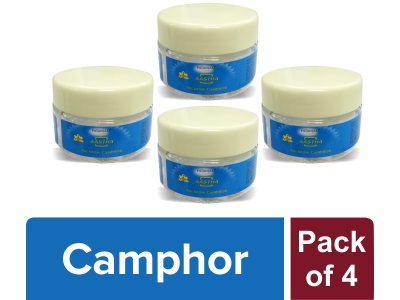 AASTHA CAMPHOR (Pack of 4)