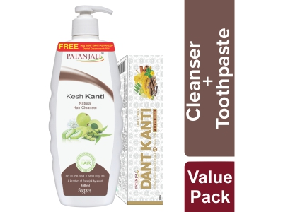 KESH KANTI HAIR CLEANSER NATURAL 450 ML-OFFER PACK