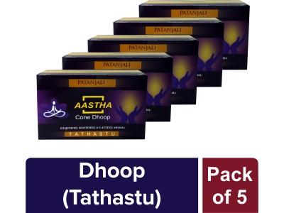 AASTHA  DHOOP TATHASTU (Pack of 5)