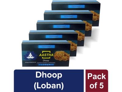 AASTHA DHOOP LOBAN (Pack of 5)