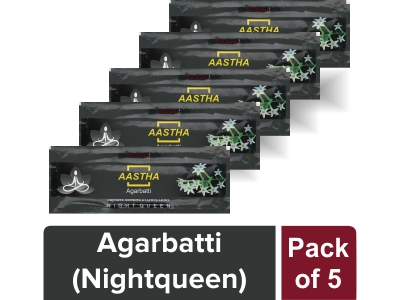 AGARBATTI -RAT KI RANI (Pack of 5)