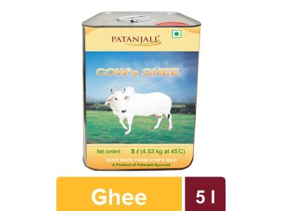 PATANJALI COW'S GHEE 5 LTR