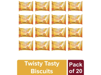 TWISTY TASTY BISCUITS (pack of 20)