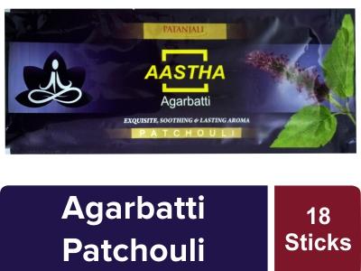 Aastha Agarbatti Patchouli - 18 Stick