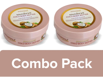 SAUNDARYA COCO BODY BUTTER CREAM (Pack of 2) - 200 GM