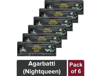 AGARBATTI -RAT KI RANI (Night Queen) 25 gm- Pack of 6