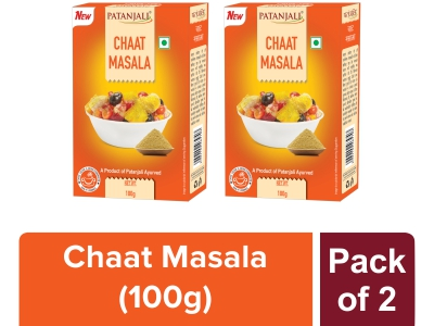 CHAAT MASALA - 100 gm (Pack of 2)