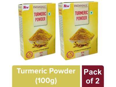 TURMERIC POWDER - 100 gm(Pack of 2)