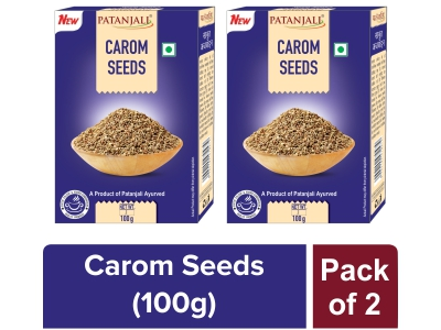 AJOWAN (CAROM SEEDS) - 100 gm (Pack of 2)