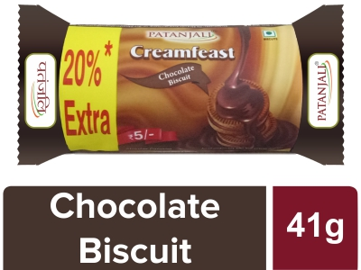 CREAMFEAST CHOCOLATE BISCUIT 41 G -T