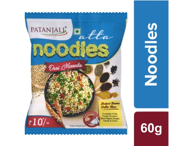 Patanjali Atta Noodles Desi Masala