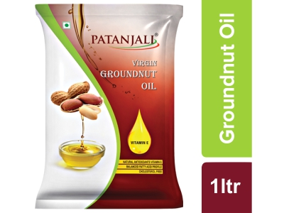 Patanjali Groundnut Oil Pouch