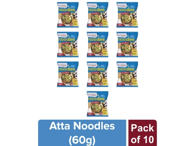 ATTA NOODLES DESI MASALA 60 gm (Pack of 10)