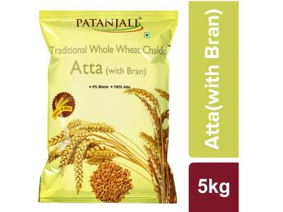Patanjali Traditional Whole Wheat Chakki Atta