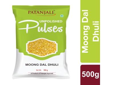 Patanjali Unpolished Moong Dal Dhuli