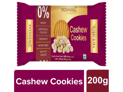 Patanjali Cashew Cookies