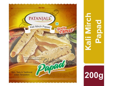 KALI MIRCH PAPAD