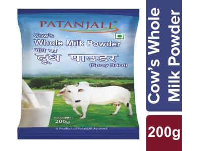 Patanjali Cow's Whole Milk Powder
